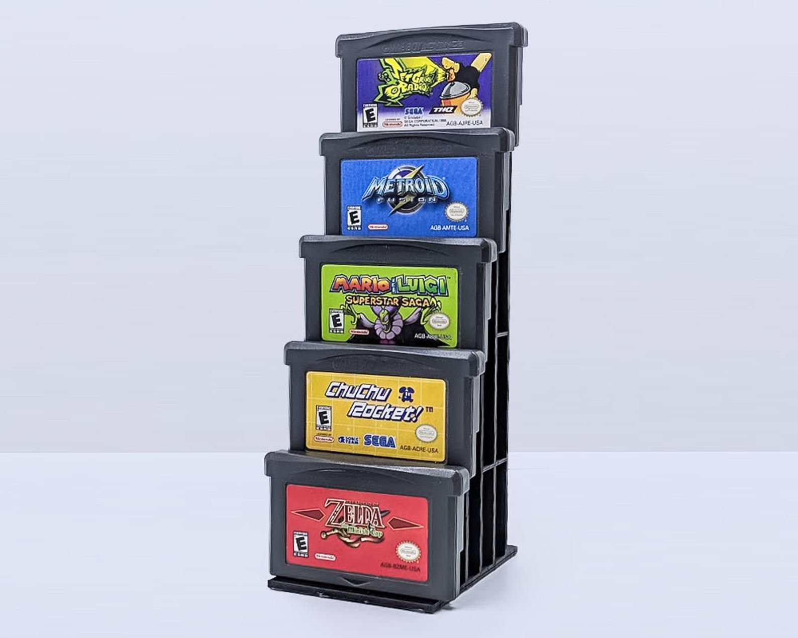 Handheld Game Stand (Game Boy + More!) Games, Gamer room