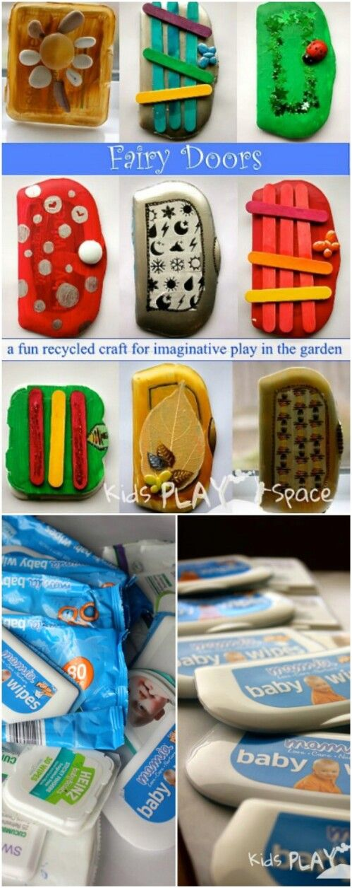 30 Surprising Ways to RePurpose Baby Wipe Containers