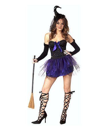 Purple Magical Goddess Costume Top & Skirt - Women #zulily #zulilyfinds