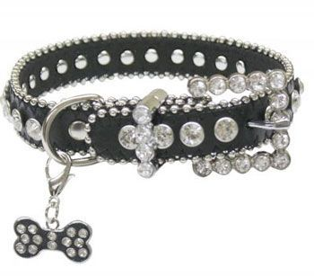 Rhinestone Bling Dog Collar | ChickSaddlery.com