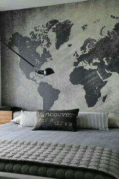 Pin by ebgler on bedroom ideas pinterest bedrooms west street north vancouver contemporary bedroom w numerart wallpaper gumiabroncs Image collections