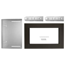 Whirlpool Countertop Microwave Trim Kit Fingerprint Resistant Black Stainless Mk2160av Trim Kit Whirlpool