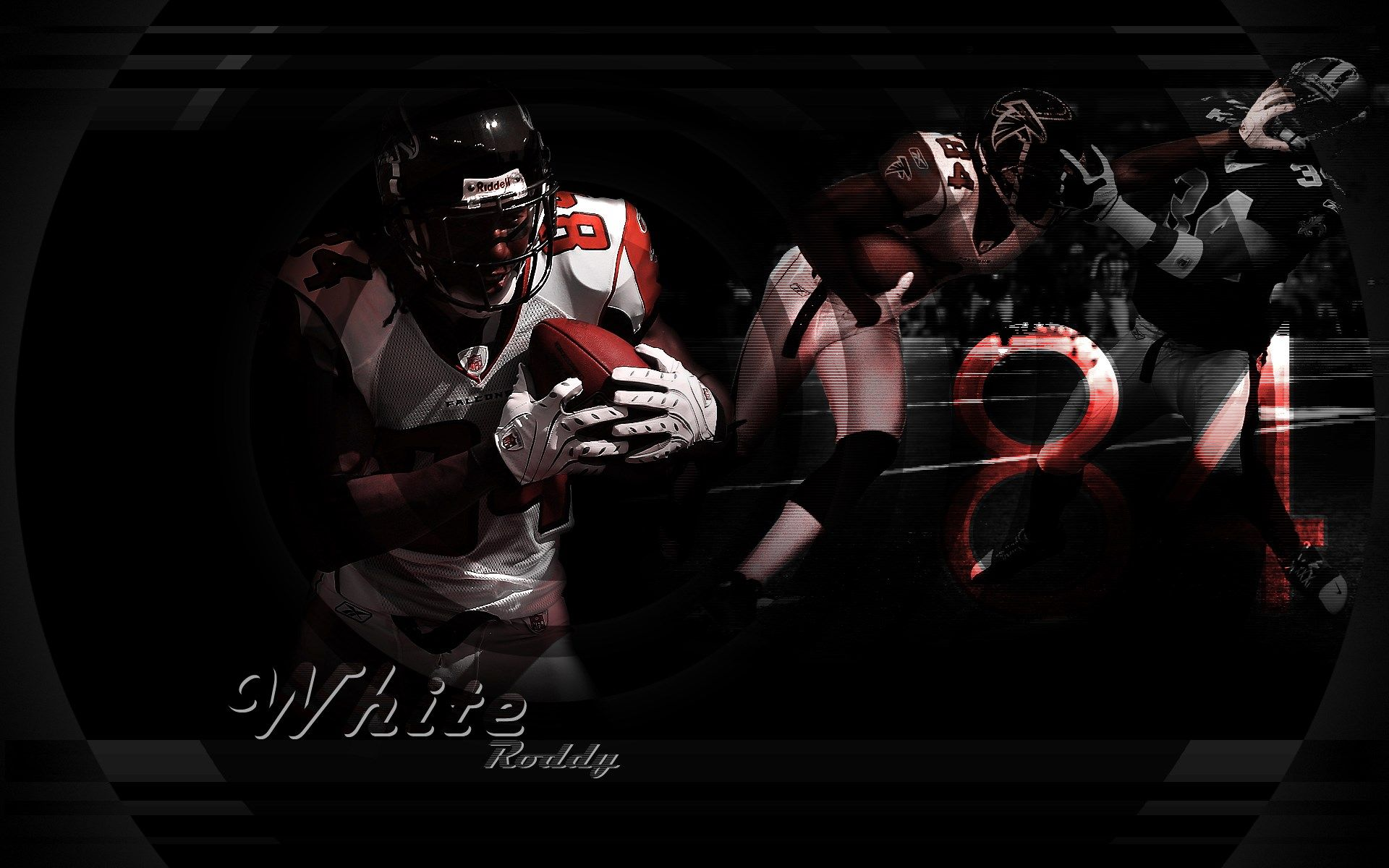 Roddy White Julio Jones Atlanta Falcons Wallpapers