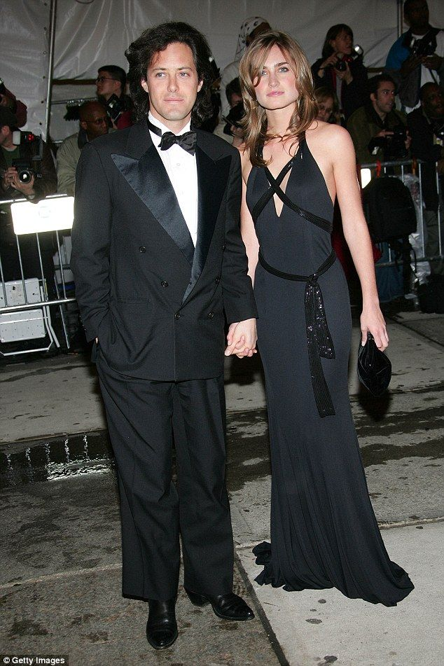 Start of it all: A year after meeting at the Met Gala, David and Lauren attended the 2005 black-tie event hand-in-hand