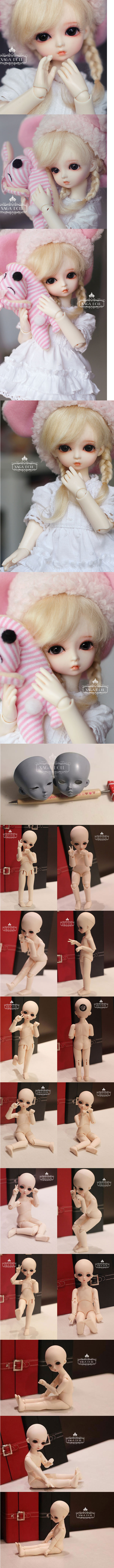 BJD NONO-2 17.5cm Ball-Jointed Doll