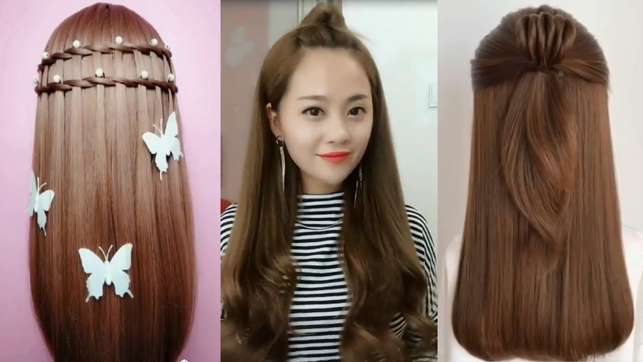 20 Beautiful Hairstyles For Long Hair Easy Hairstyles For Girls 2019 Hairstyles Hair Styl In 2020 Long Hair Styles Hair Styles Easy Hairstyles