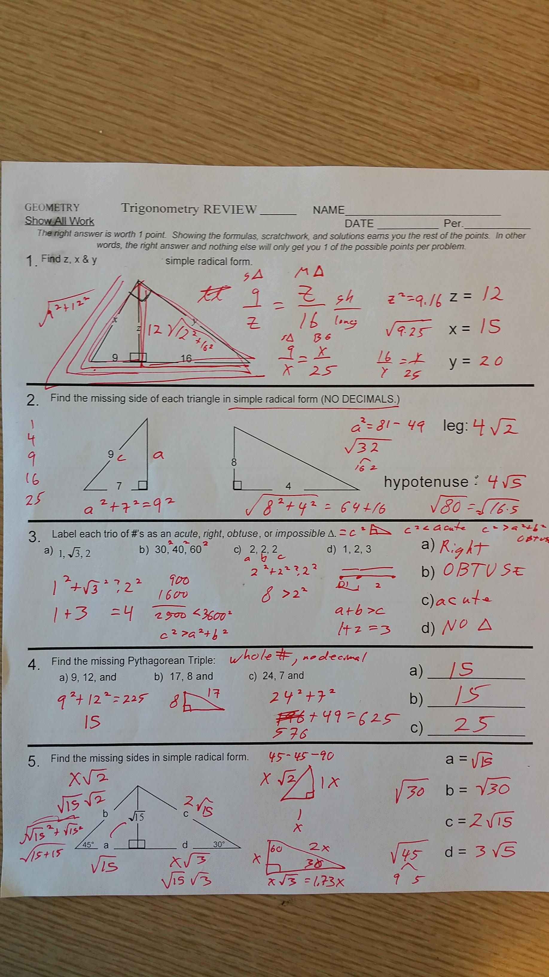 50 Triangle Inequality Theorem Worksheet In
