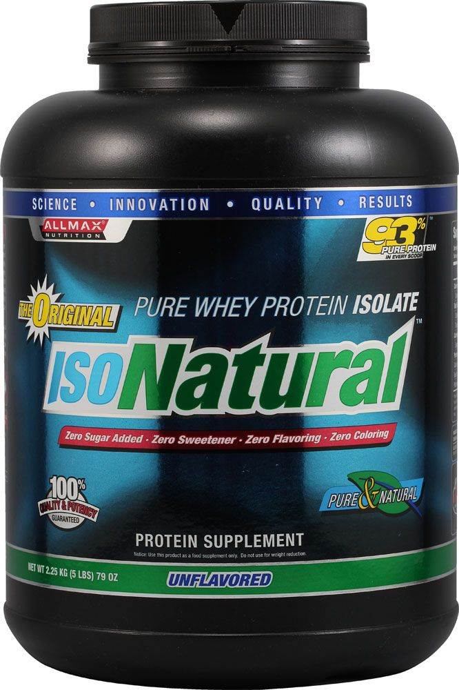 ALLMAX Nutrition IsoNatural™ Whey Protein Isolate