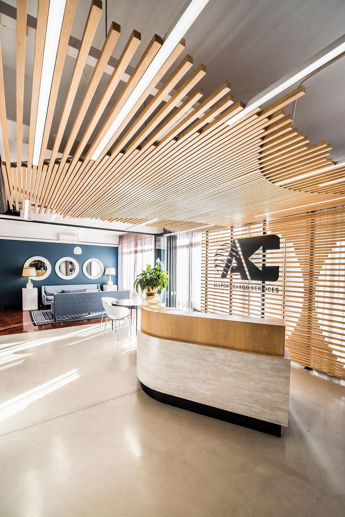 Inside Allport Cargo Services Cape Town Office Office Ceiling