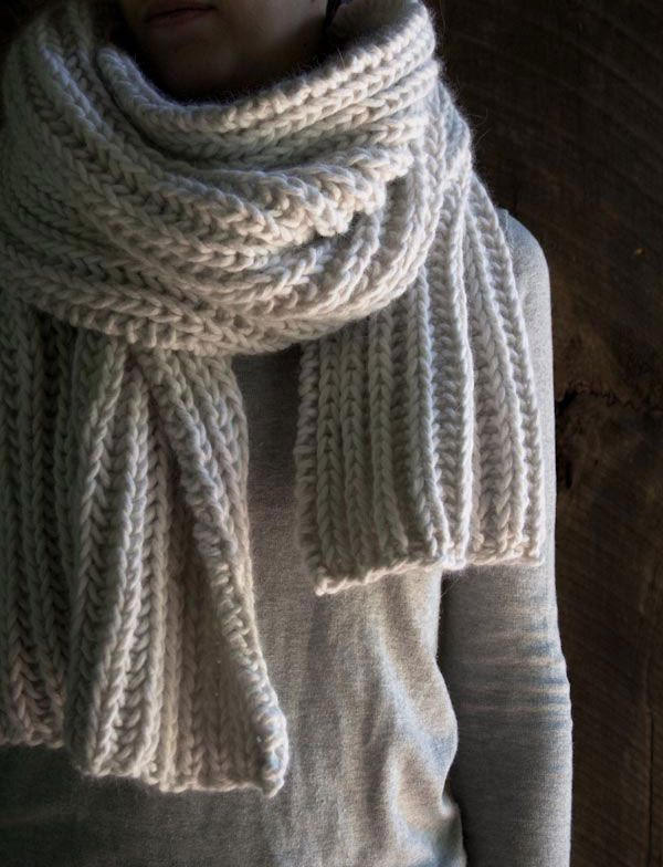 Seafaring Scarf The Purl Bee Mens Knitted Scarf How