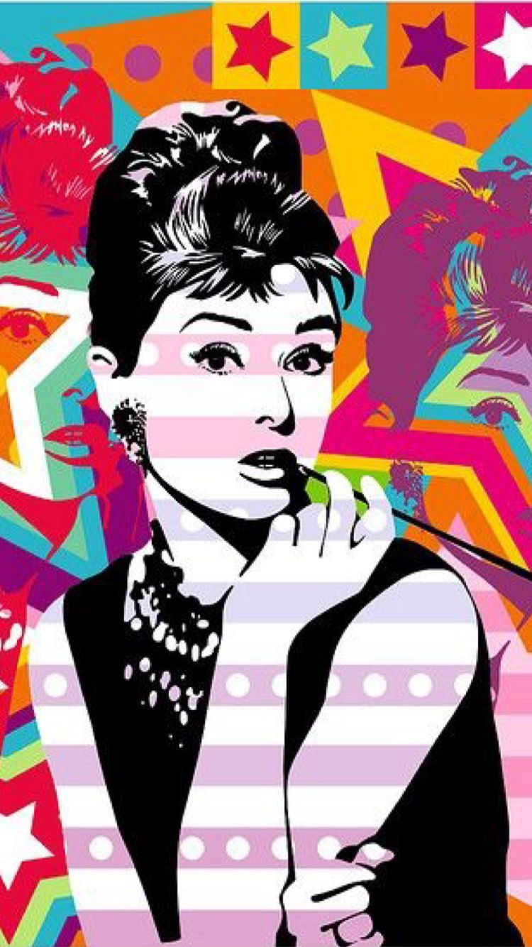 Discover Ideas About Audrey Hepburn Illustration