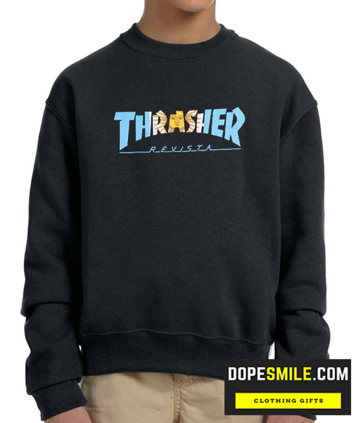Thrasher Argentina Cool Sweatshirt In 2020 Sweatshirts