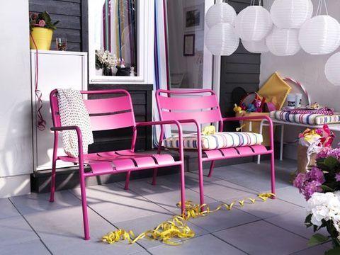 Ikea roxo | Patio ikea, Mobilier de balcon et Meubles rose