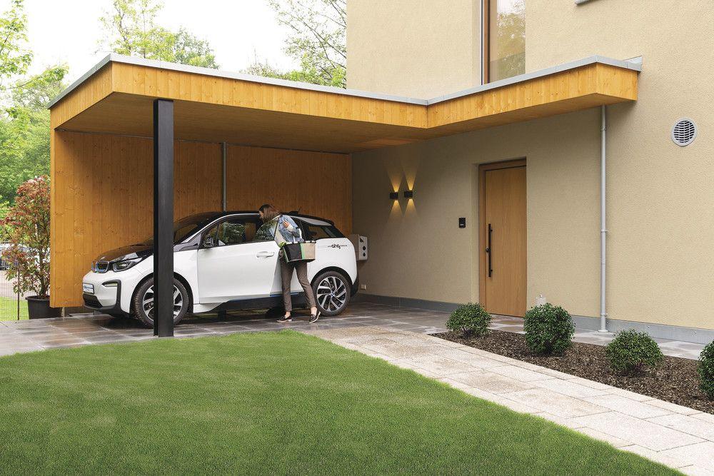 42++ Garage mit holz verlaengern Trends