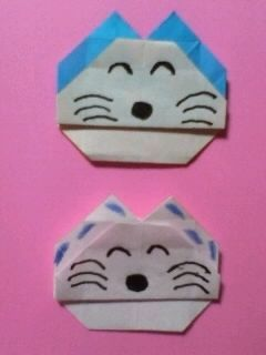 11ぴきのねこ 摺紙 2種類