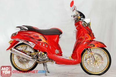 Modifikasi Motor Yamaha Mio Fino Modifikasi Motor Fino Pinterest
