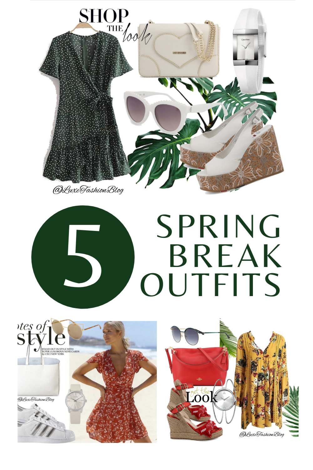 5 Spring Break Outfits & Accessories You Totally Need | Spring Break Outfit Ideas