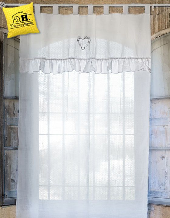 Tende Shabby Chic Vendita On Line Cool Sheer Blind And Curtains