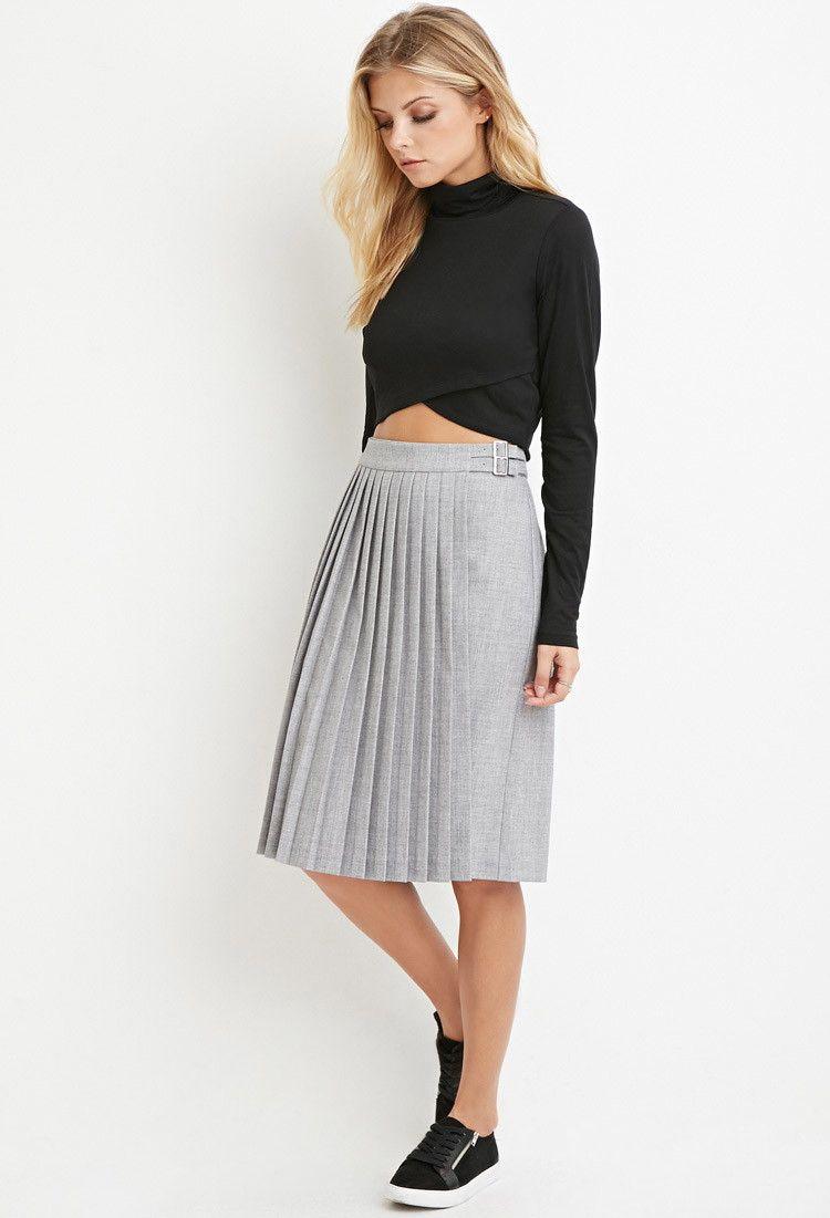 264752e2c5e1 Ladies Tweed Pleated Skirts