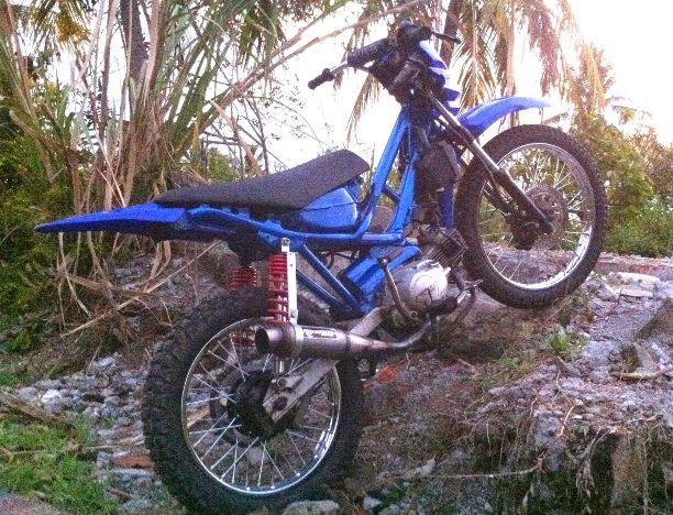 Modifikasi Motor Drag Ninja 150 Honda Beat Cbr Motor Matic Yamaha