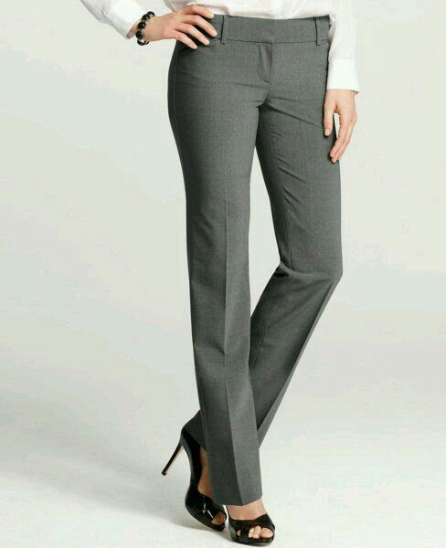 Pantalón de vestir   Pantalones de vestir mujer, Pantalones