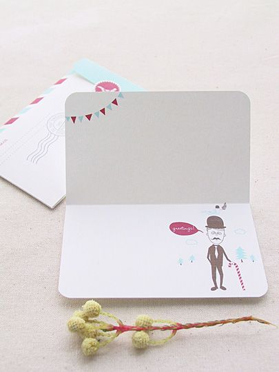 Mini Greeting Card And LetterWriting Set Freebies  Eat Drink