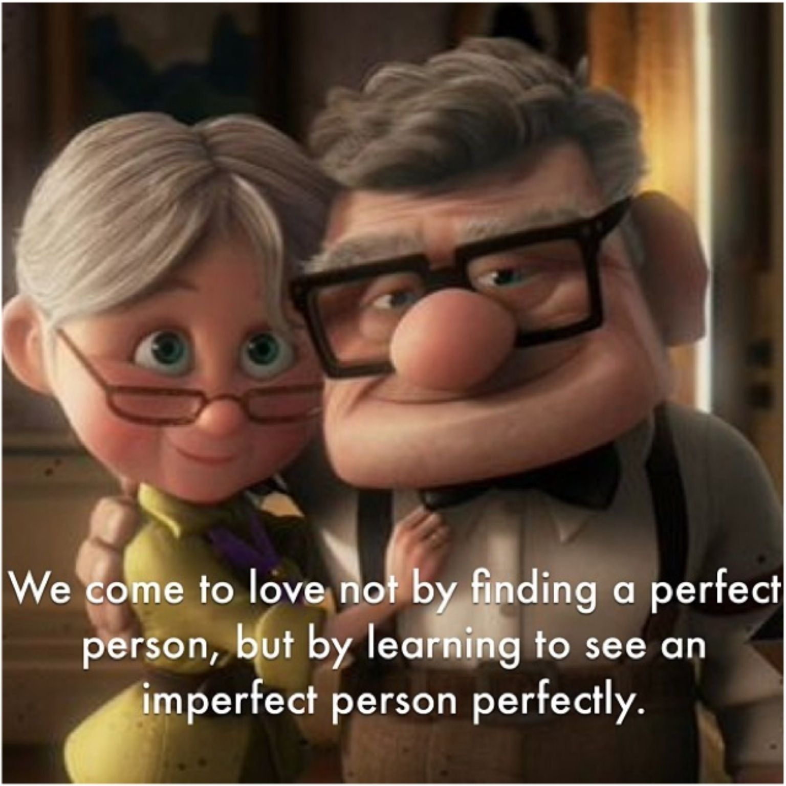 Old Age Couple Quotes: Loving Perfectly Imperfectly