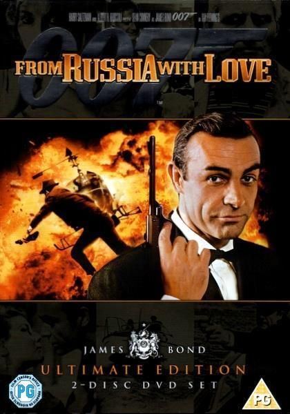 From Russia With Love 2 Dvd Ultimate Edition Sean Connery 1963