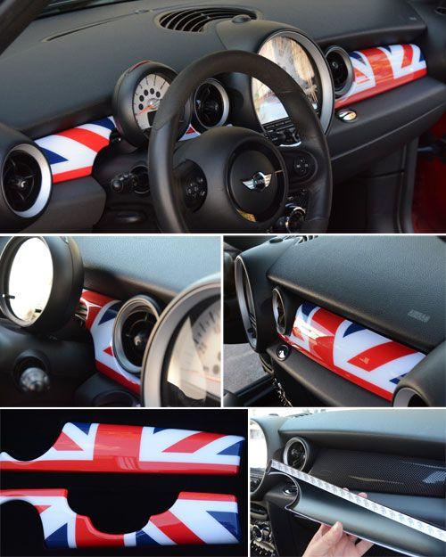 Union Jack Mini Cooper Dash Covers Mini Cooper Accessories Mini Cooper Mini Coper