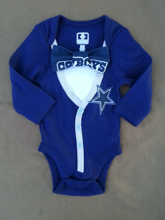 Dallas Cowboys Baby Cardigan Girl or Boy by