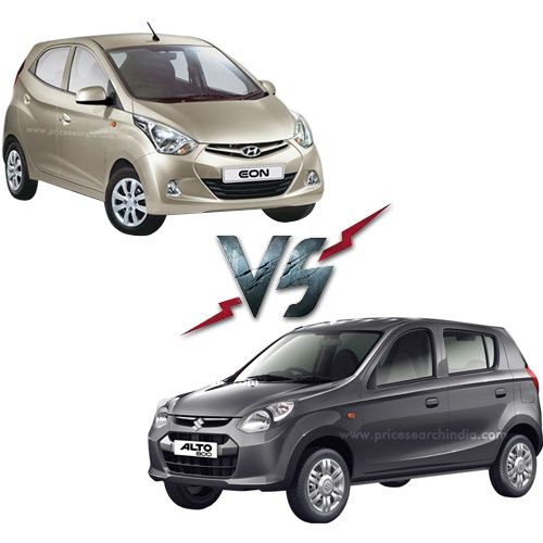 Maruti Alto 800 Vs Hyundai Eon Comparison Price Specifications
