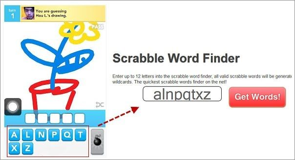Draw Something English Scrabble Word Finder Scrabble