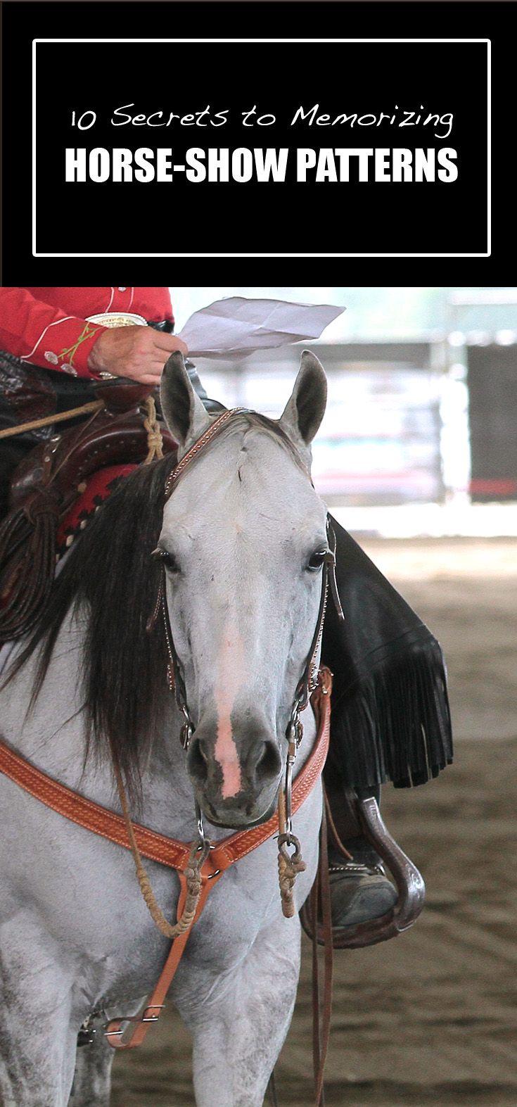 Best Kept Secrets For Memorizing Horse Show Patterns