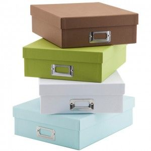 Paper Storage Boxes