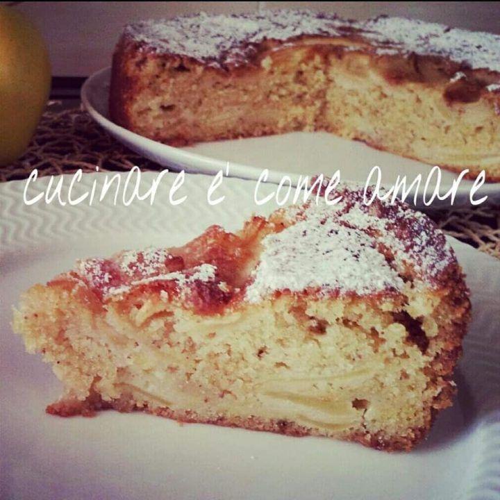Photo of TORTA DOLCE DELLA NONNA alle mele | Cucinare è come amare