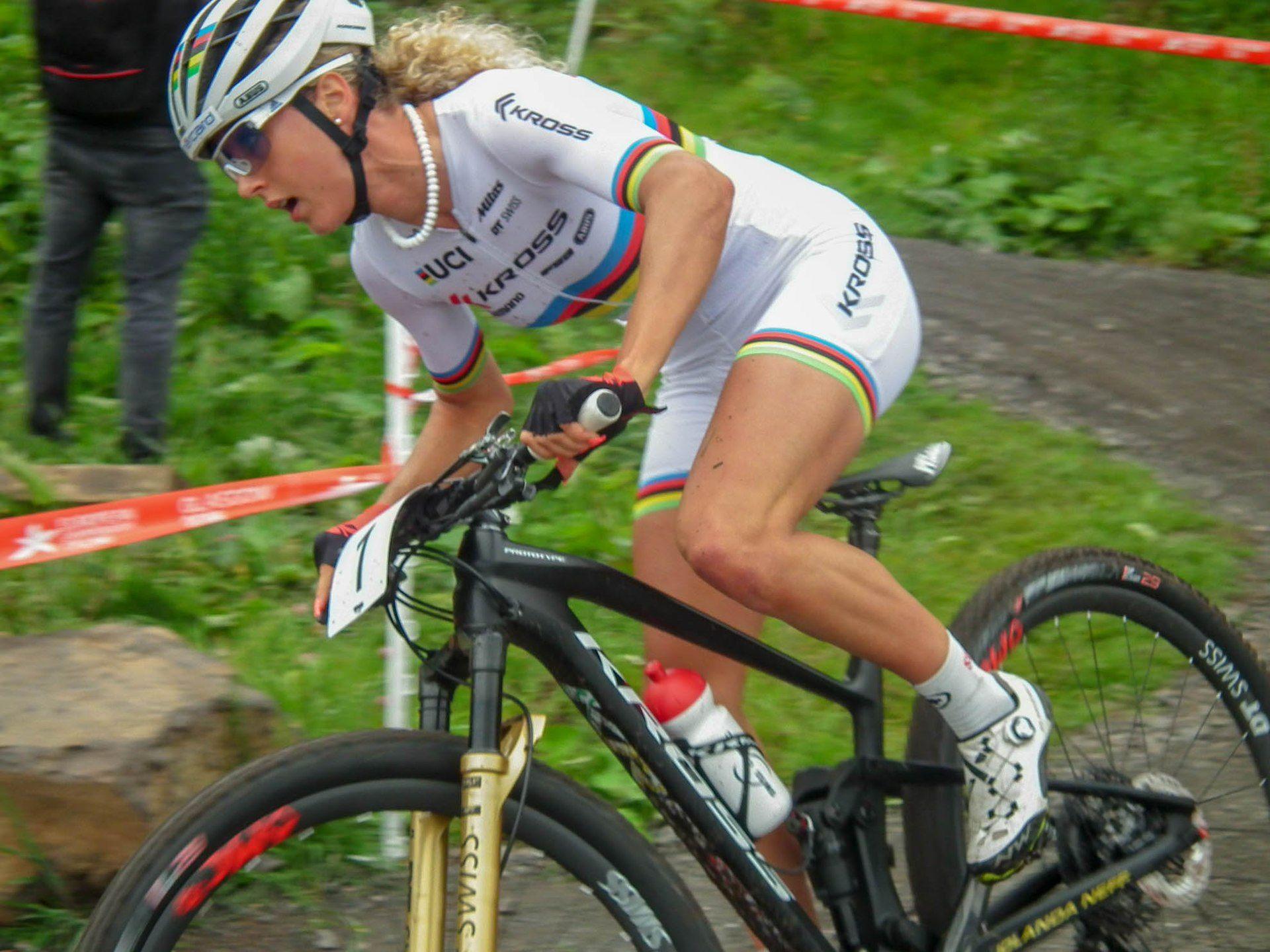 Jolanda Neff Trek Racing Team   Cycling girls, Cycling