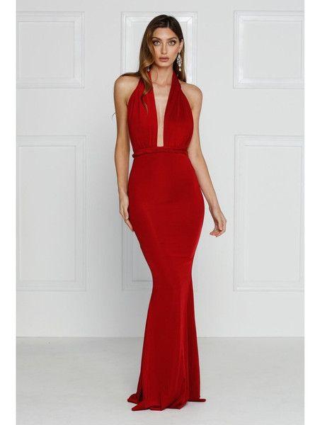 13c395c0360 Alamour Florencia gown (red) pre-order - Kourvosieur - 1 ...