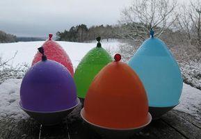 Fra farverig ballon til tindrende islygte