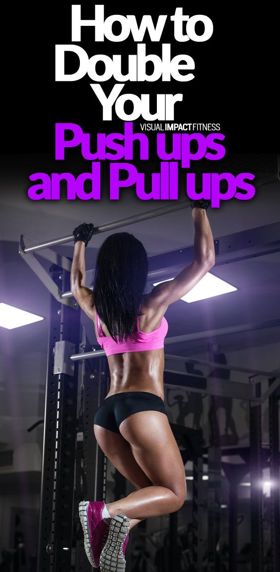 How to Double Your Pull-Ups and Push-Ups   Challenged   Push