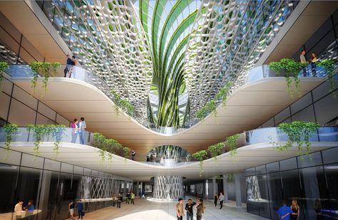 Change Comes To Egypt >> apple main office usa interior - Cerca con Google   Development   Pinterest   Architecture, Mall ...