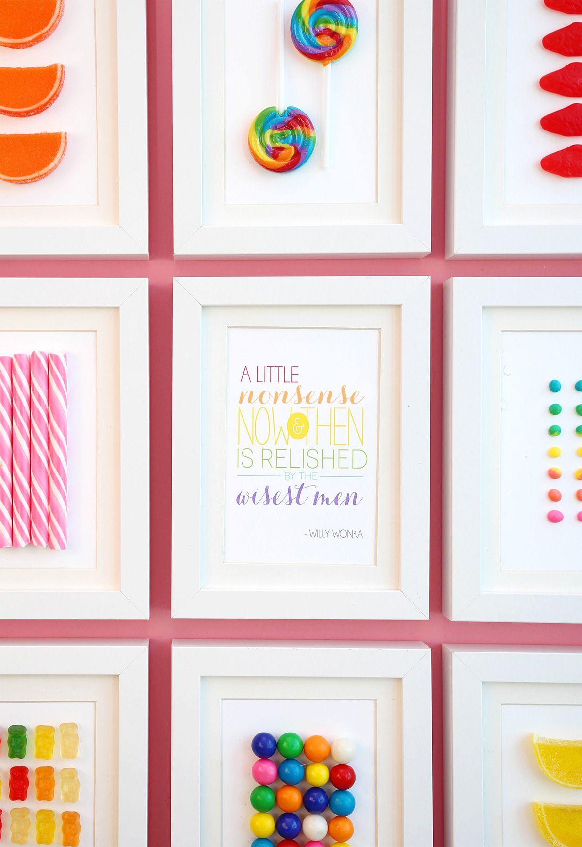 DIY Framed Candy | Pinterest | Juveniles, Eres tú y Plástico