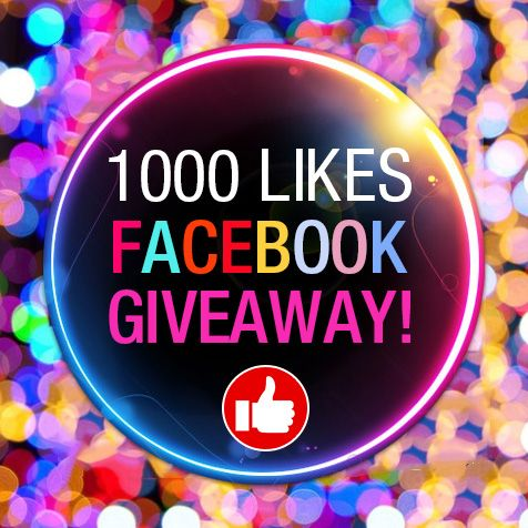 1000 likes giveaways