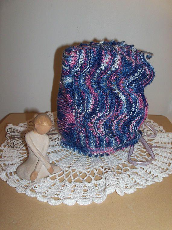 Béguin tricoté main pour bébé 18 à 24 mois 2 ans   Je tricote, tu ... 93c77aa75cb