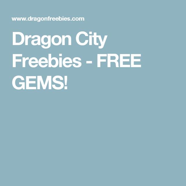 Dragon City Freebies - FREE GEMS!