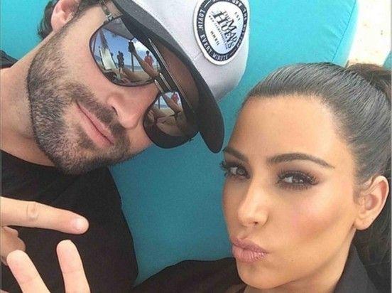 Brody Jenner shares selfie with bikini-clad Kim Kardashian on a Thai beach - Daily Mail