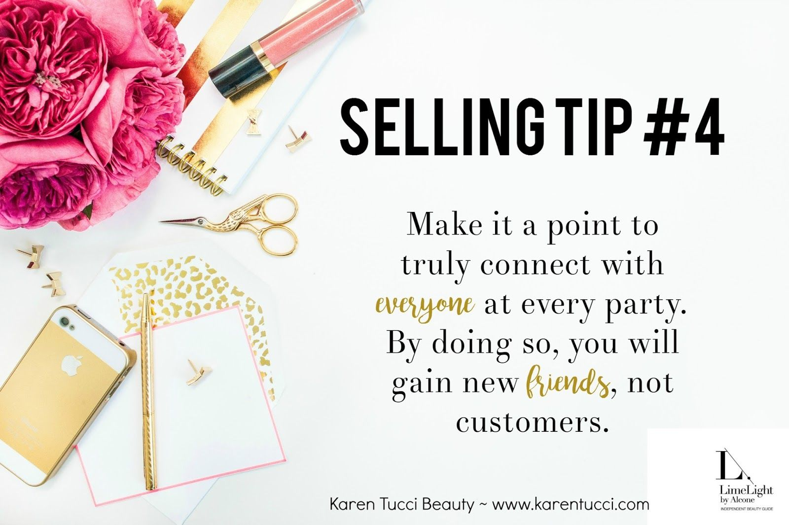 Make It A Point To Truly Connect With Everyone At Every Party By Doing So You Will Gain New Friends Not Customers For E