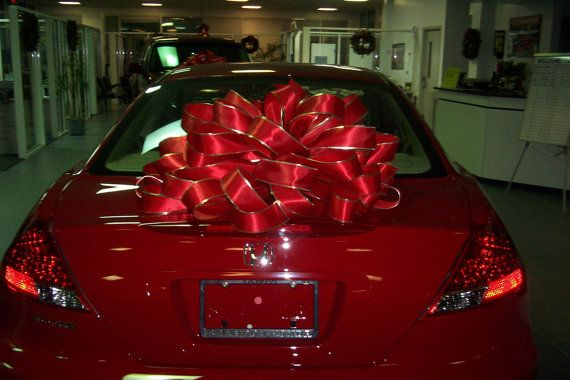 BIG LARGE Gift BOW Car Boat Wreath Christmas Tree by TOBYWILLIE ...