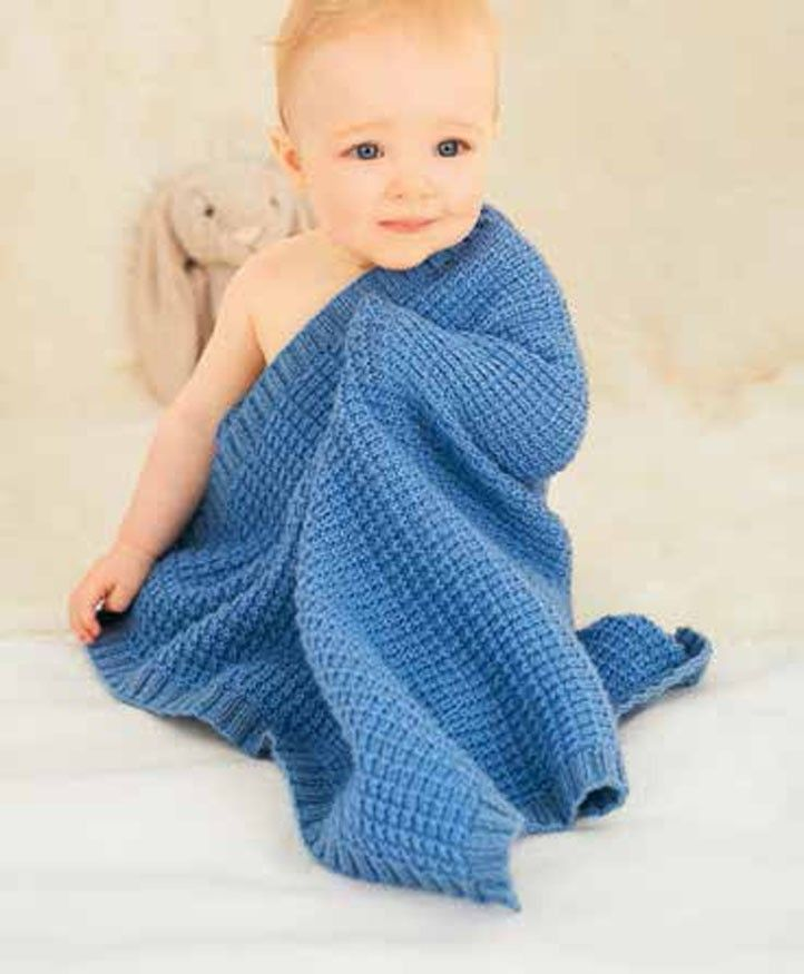 Blankets in rico design baby classic dk 087 digital