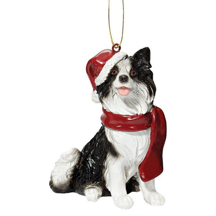 Border Collie Christmas Tree Decoration Dog Ornaments Dog