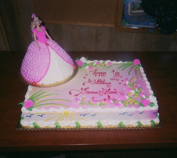 Barbie Cakes Barbie Sheet Cake Flickr Photo Sharing With